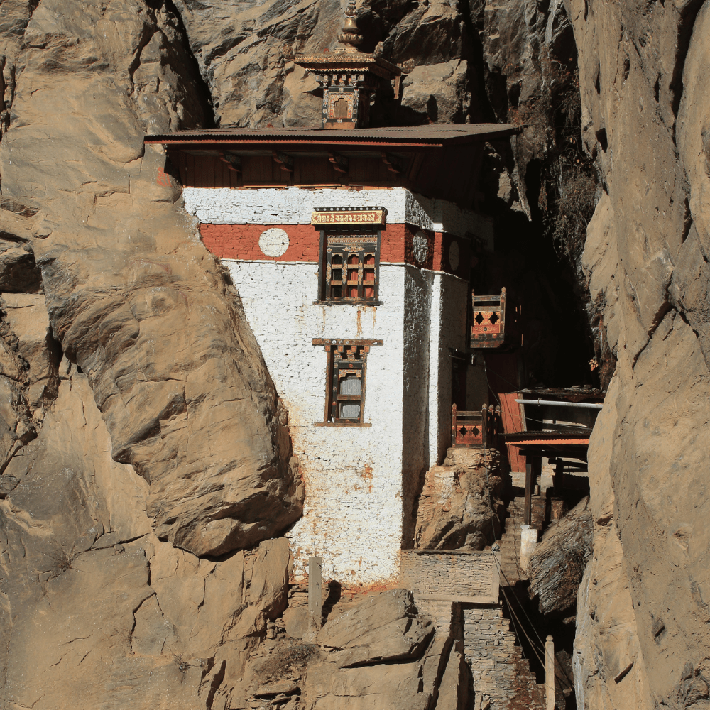 Tiger Nest Monastery Architecture