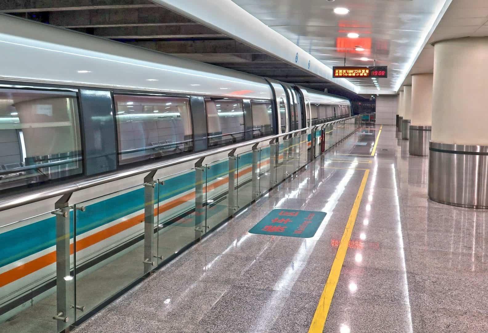 Metro in Shanghai