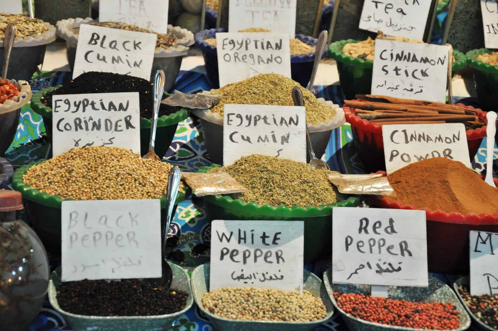 Spices in Egypt