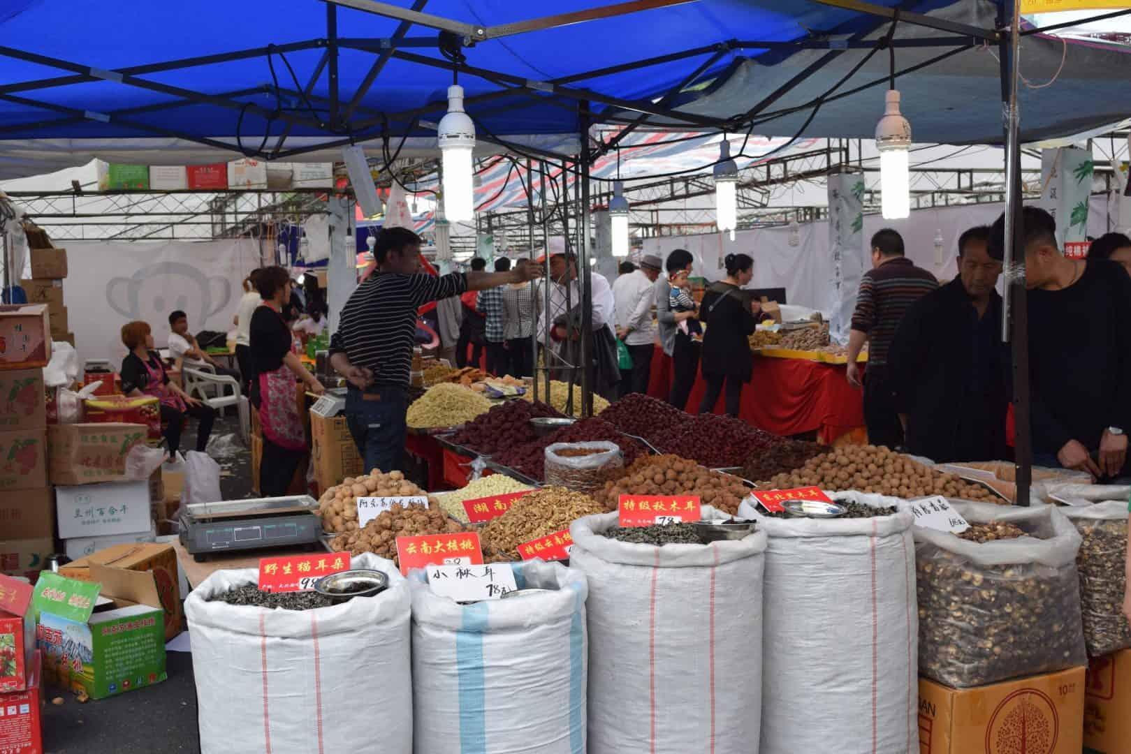 Spice Market in Ningbo