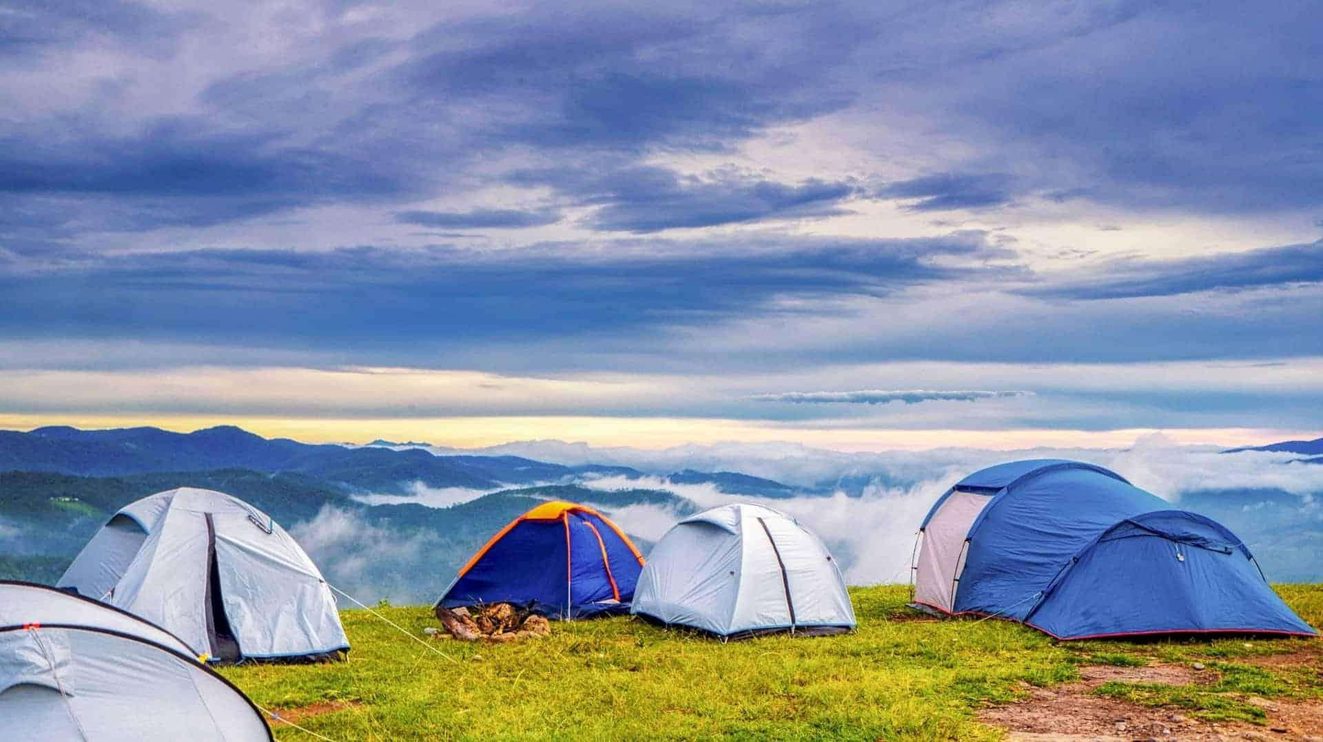 Camping Himalayas