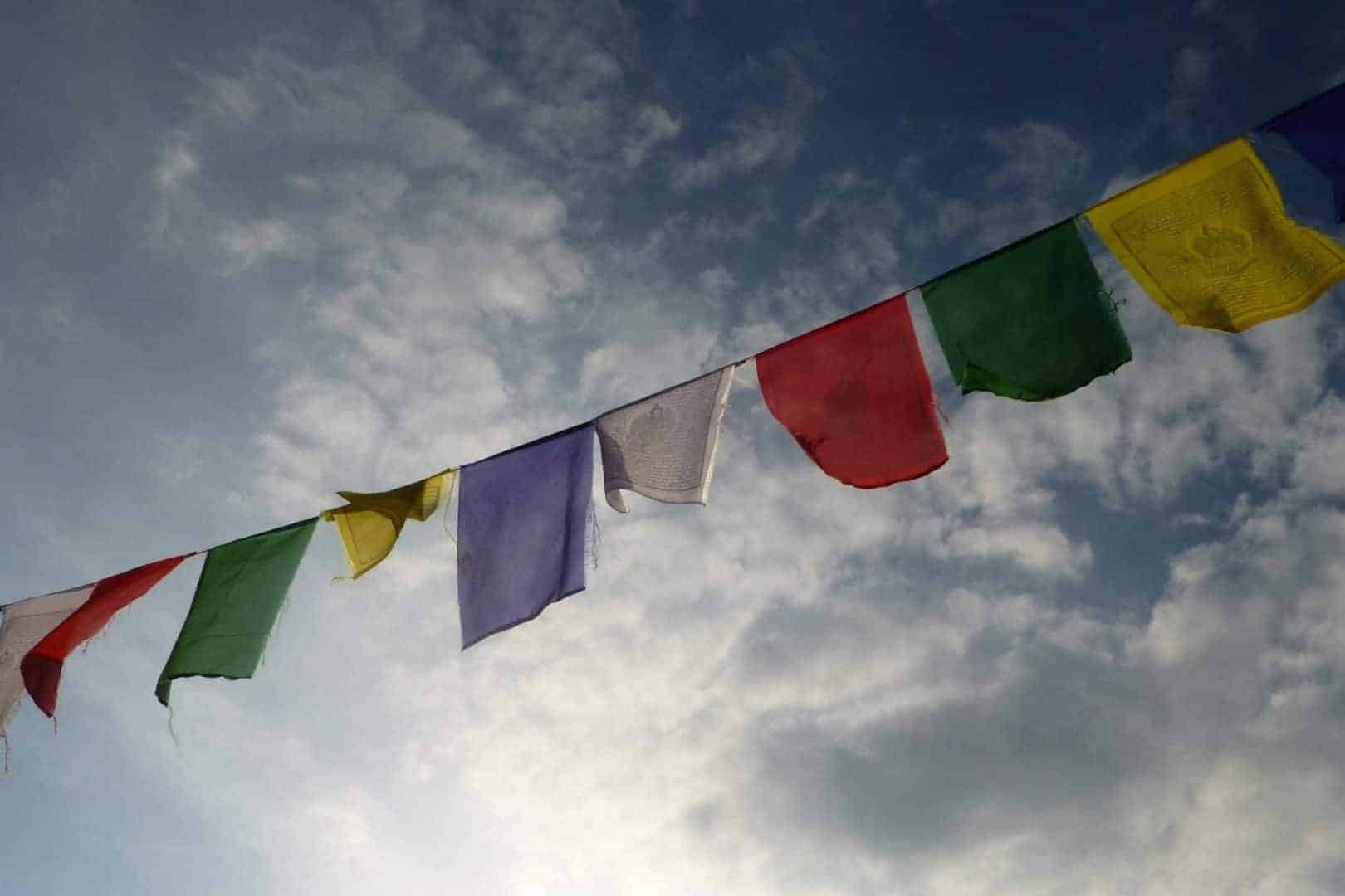 Prayer Flags Himalayas