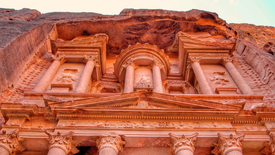 Itinerary for petra