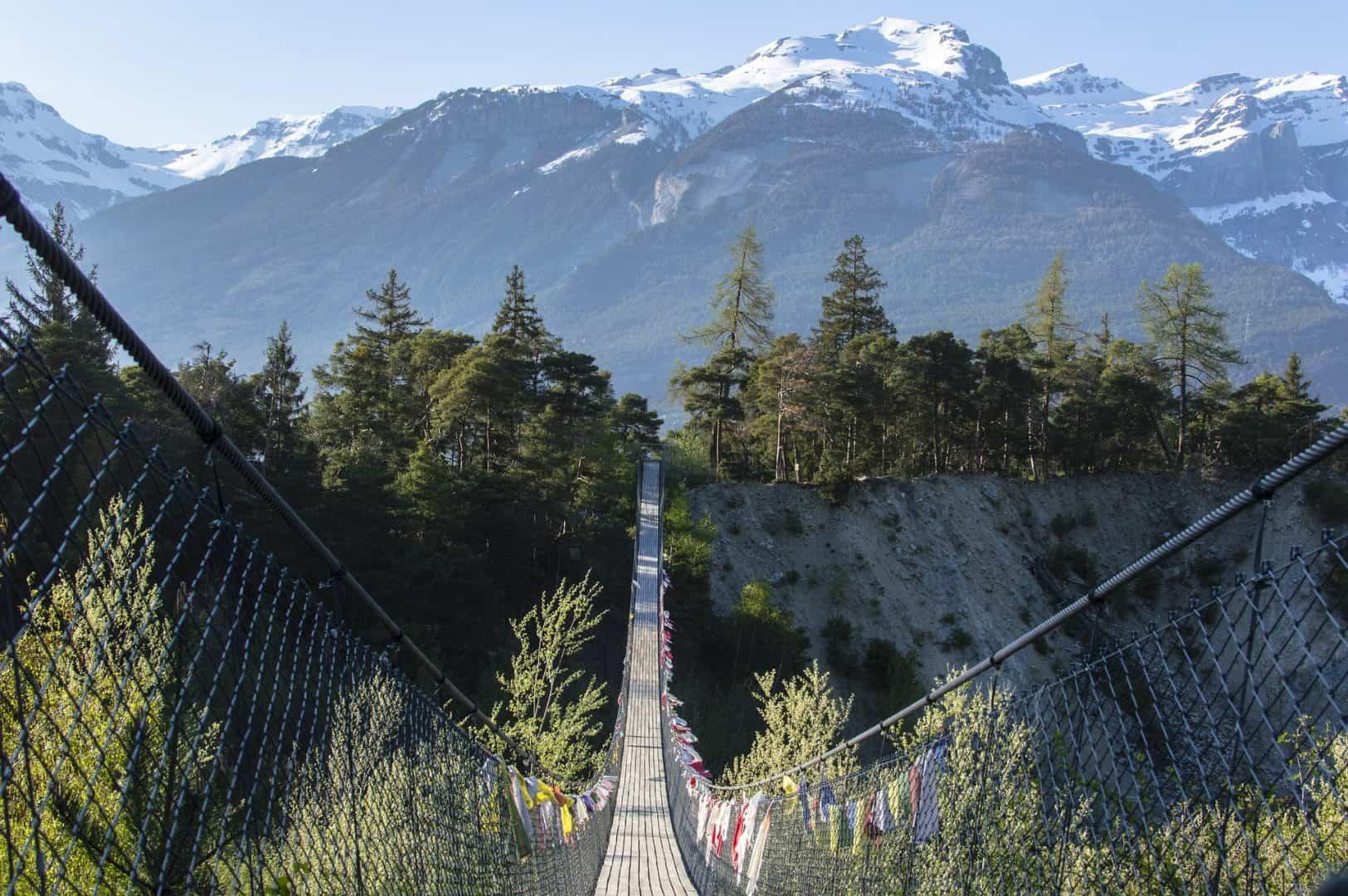 Bhutan Bridge