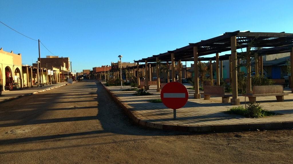 Streets of Merzouga