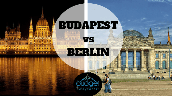 Budapest versus berlin