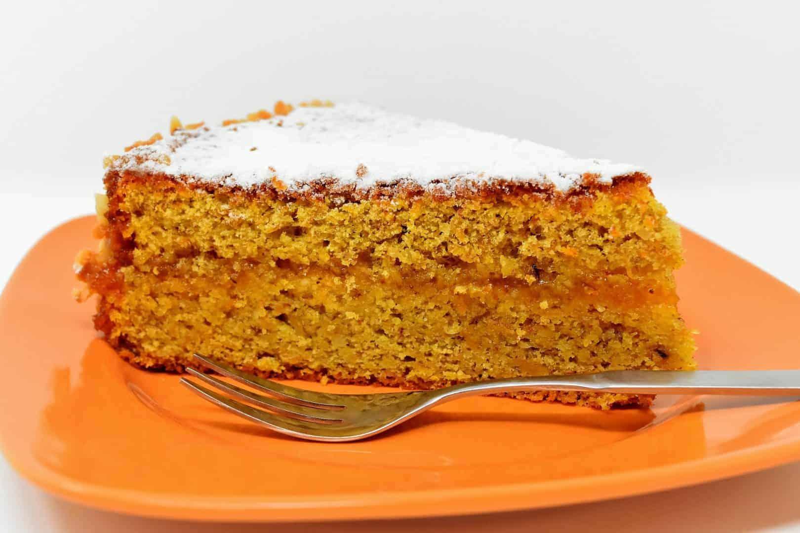 Dharamshala carrot cake