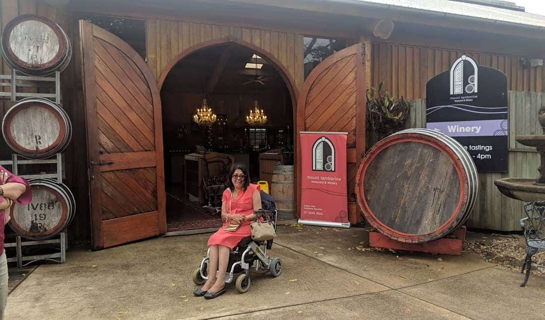 Traveling to Australia in a wheelchair
