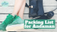 Things to pack for Andaman