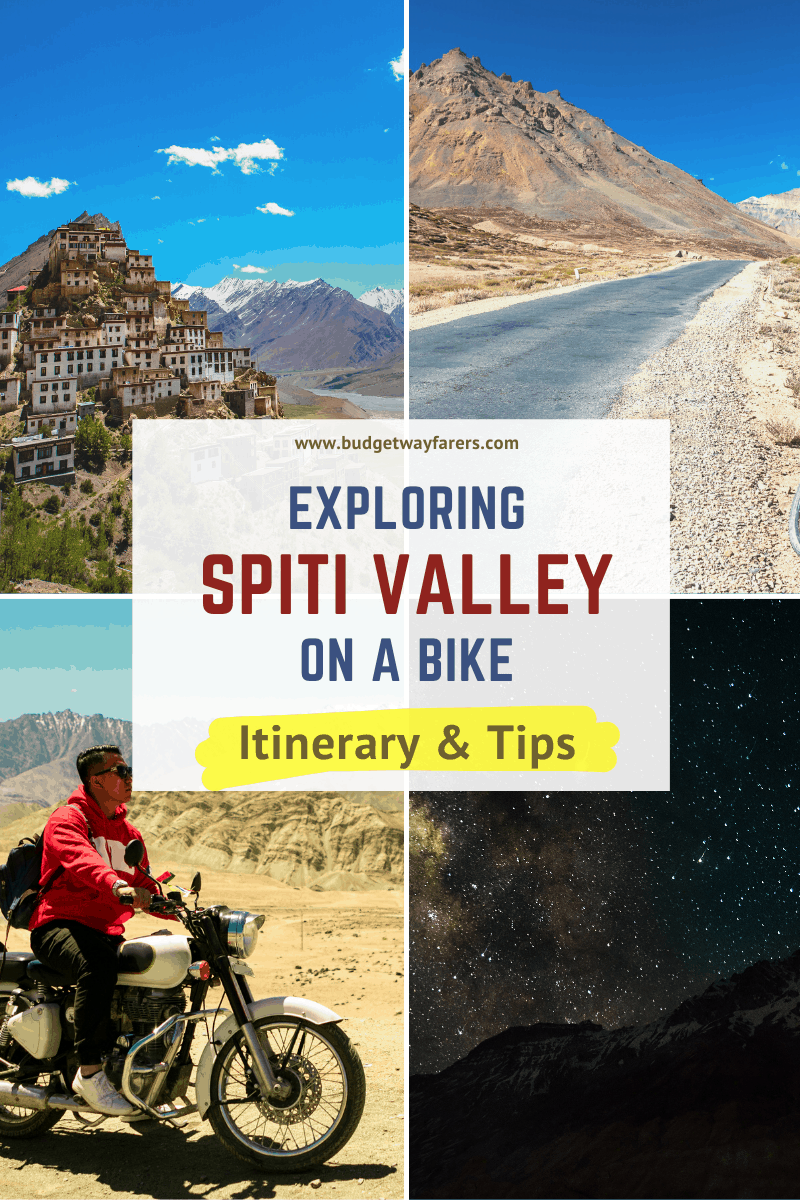 Spiti valley bike trip planner