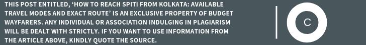 how to reach Spiti from Kolkata