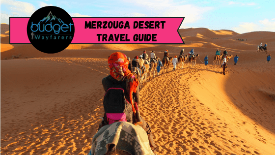 Merzouga Desert Safari, Camel Trekking and Camping Overnight