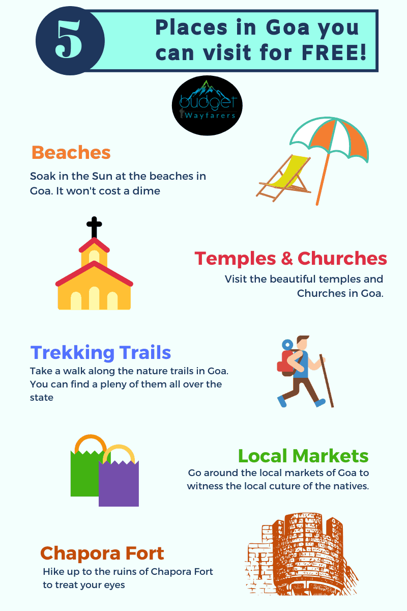 Free things to do in Goa