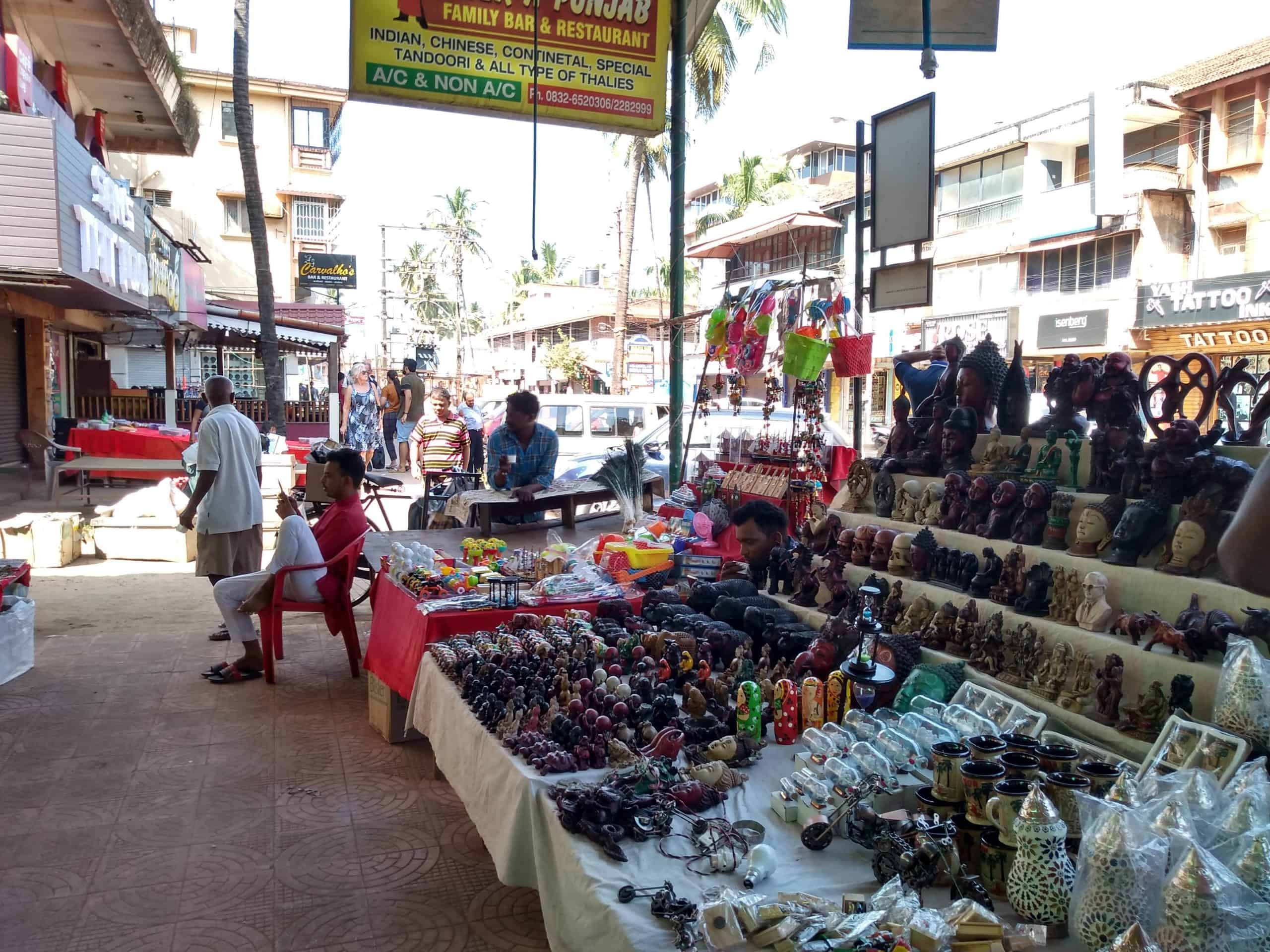 goa beach markets