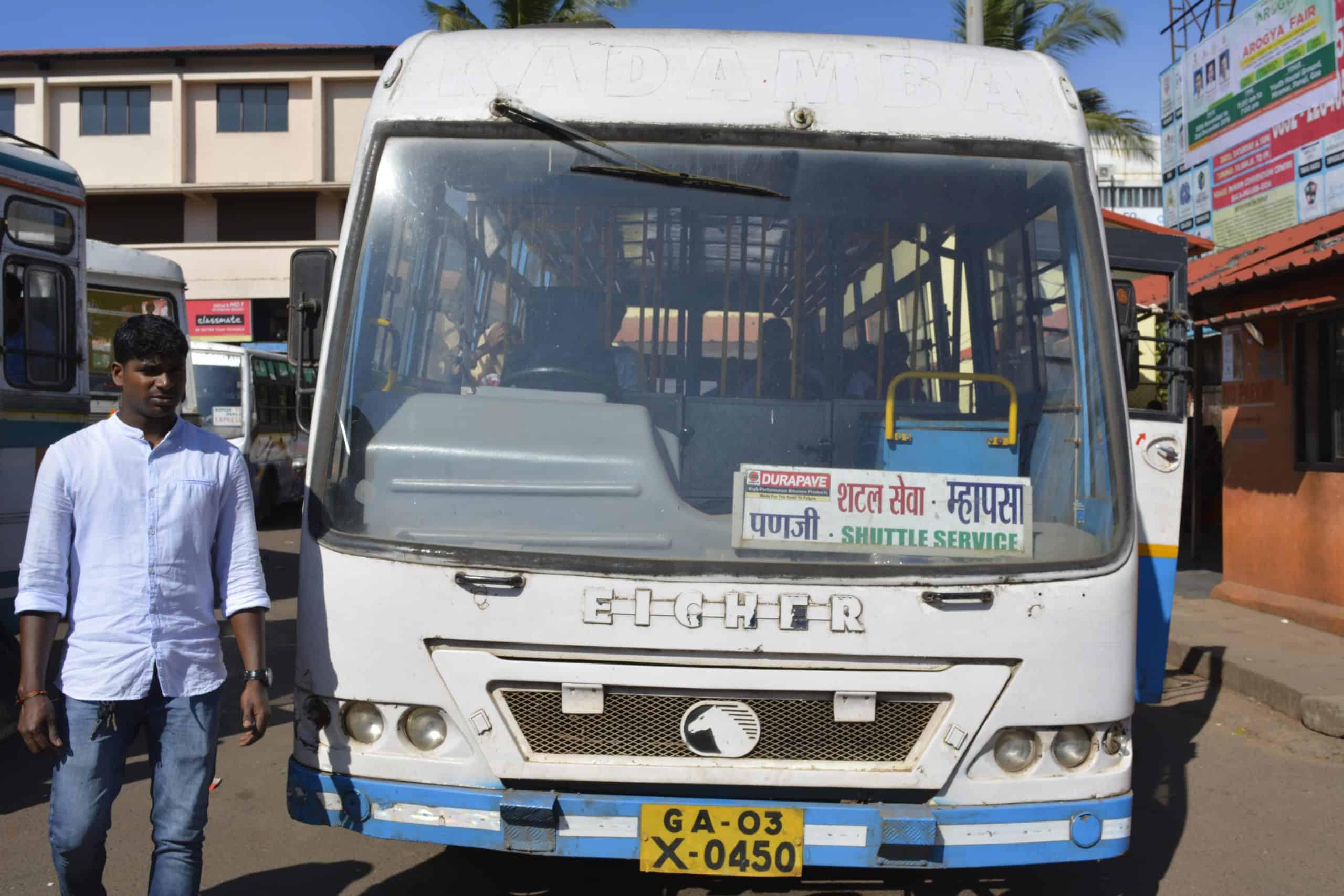 goa bus service