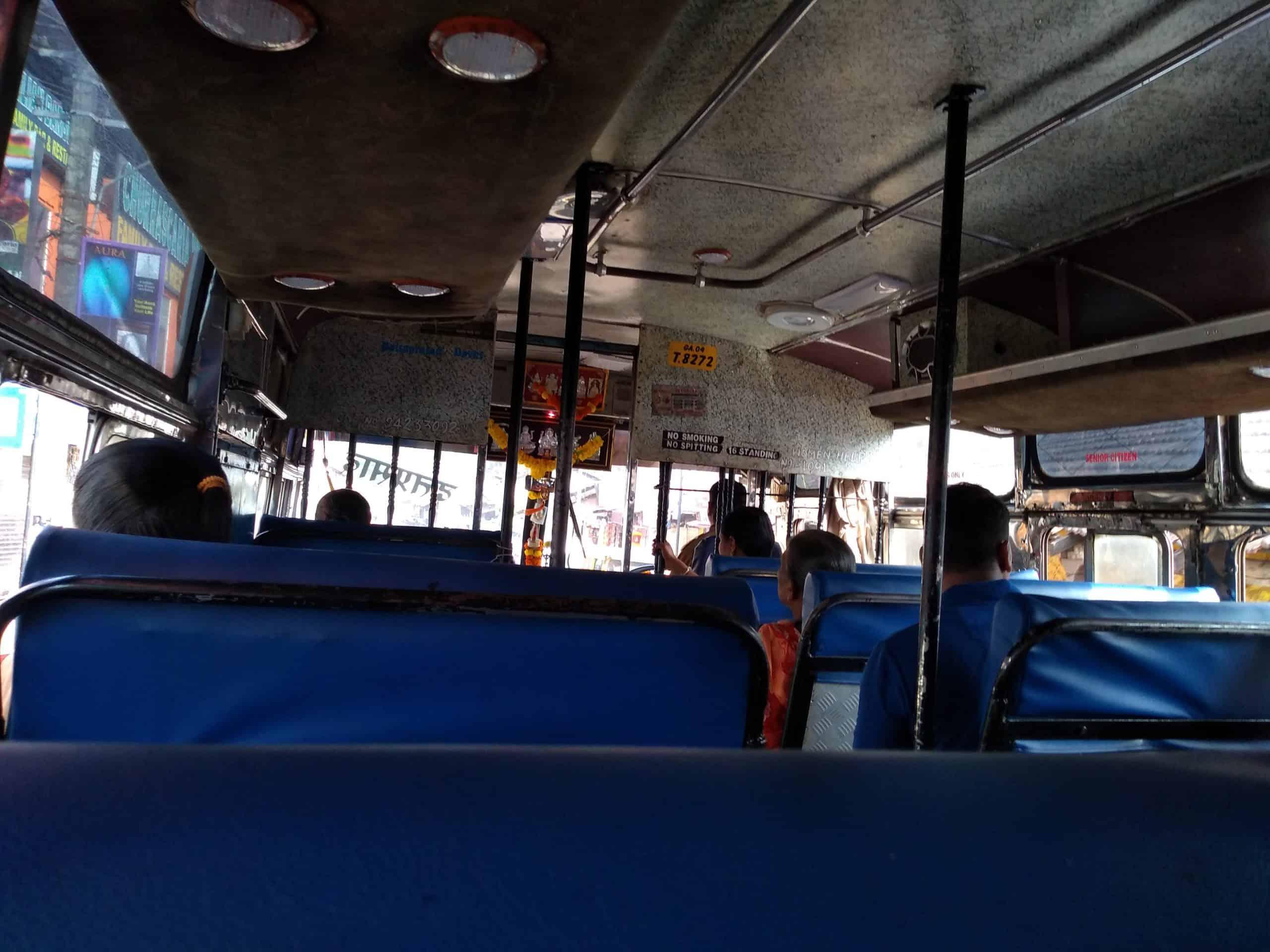 Goa buses