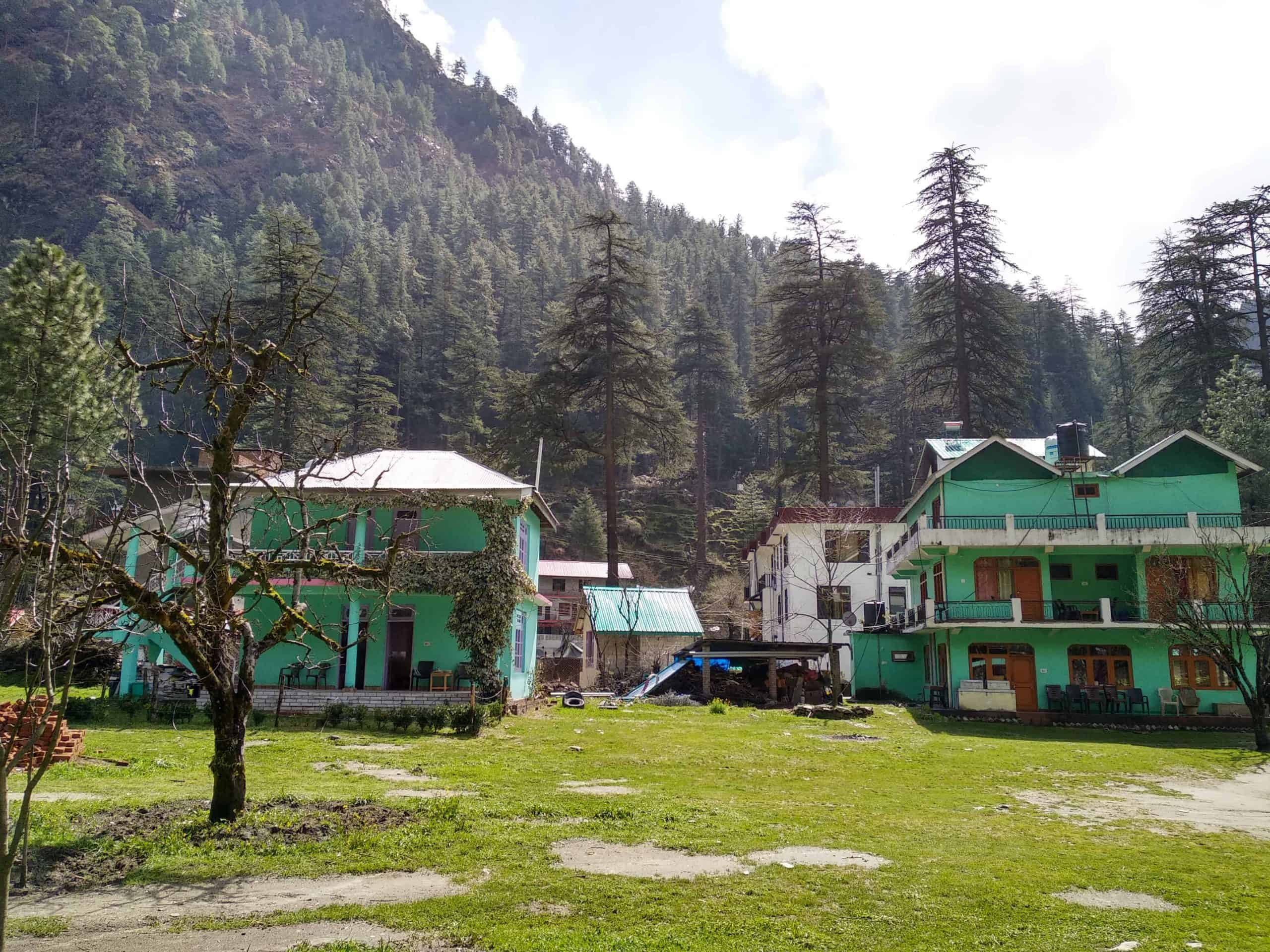 green house cottage kasol