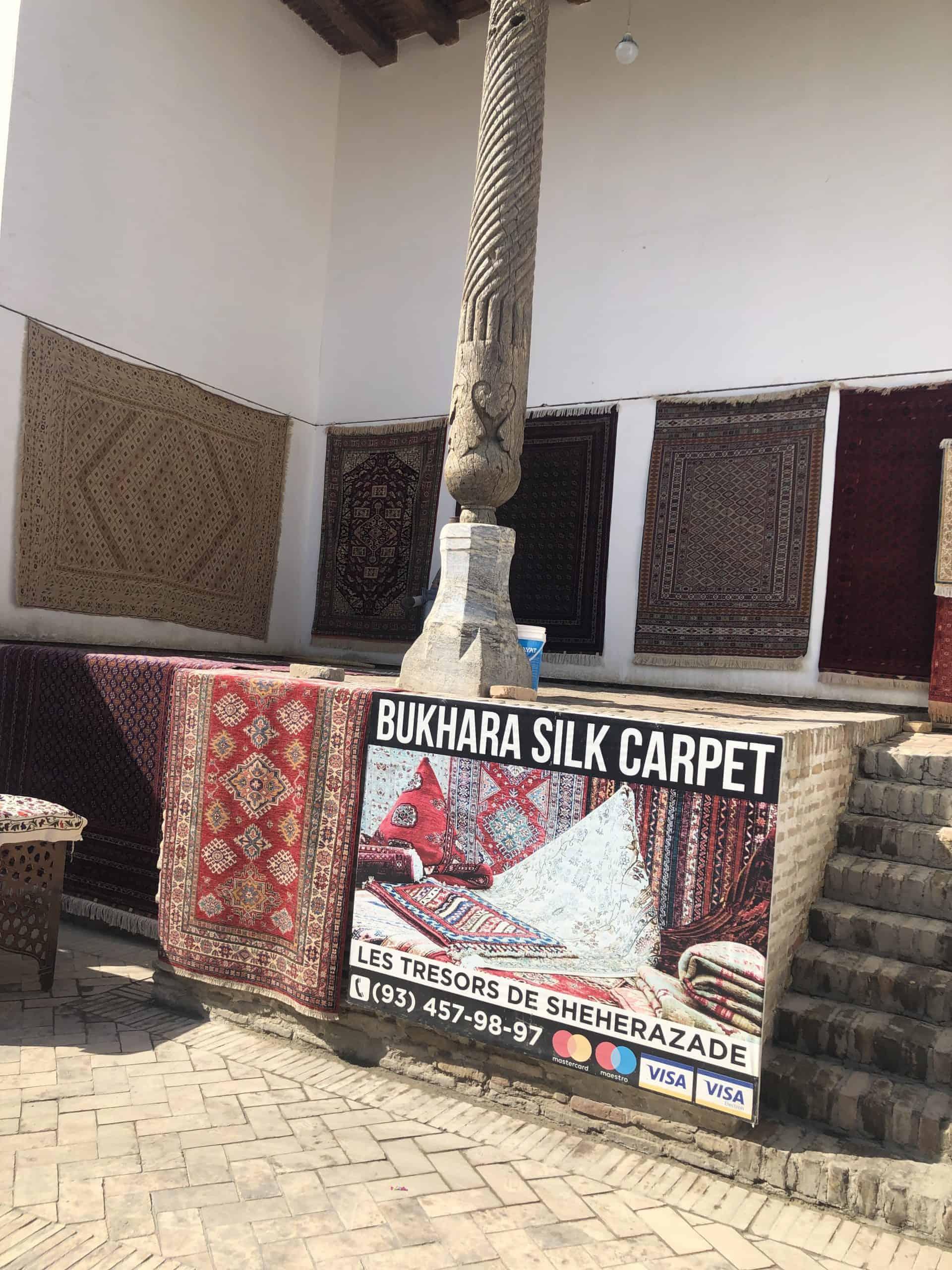 Bukhara souvenirs