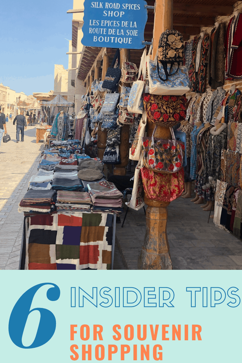 Souvenirs to buy in Uzbekistan