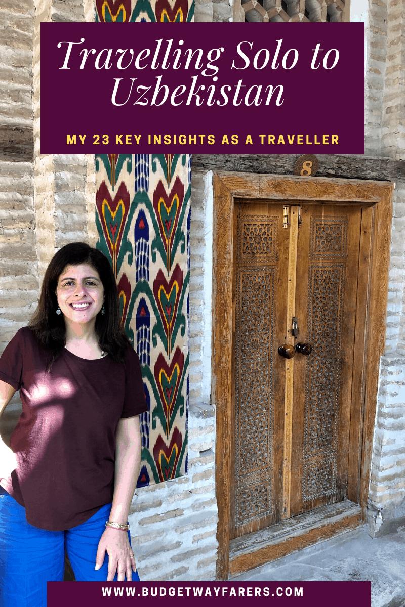 Travelling solo to Uzbekistan