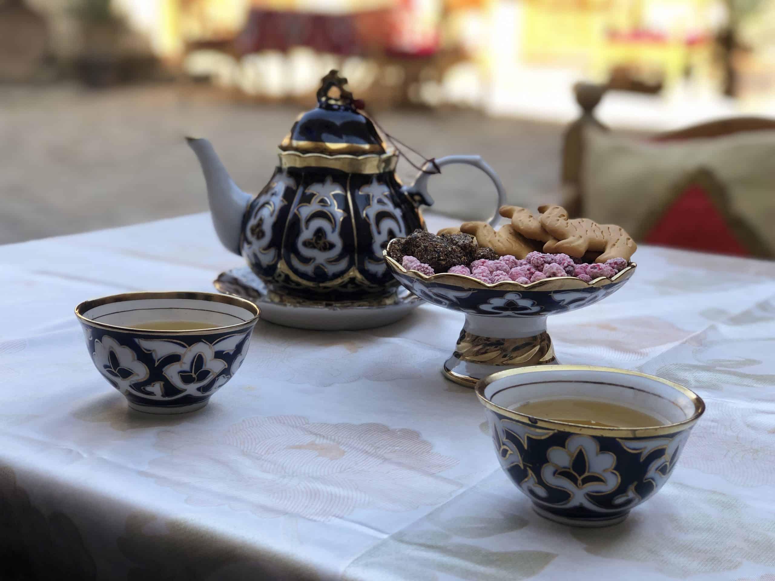 tea in uzbekistan