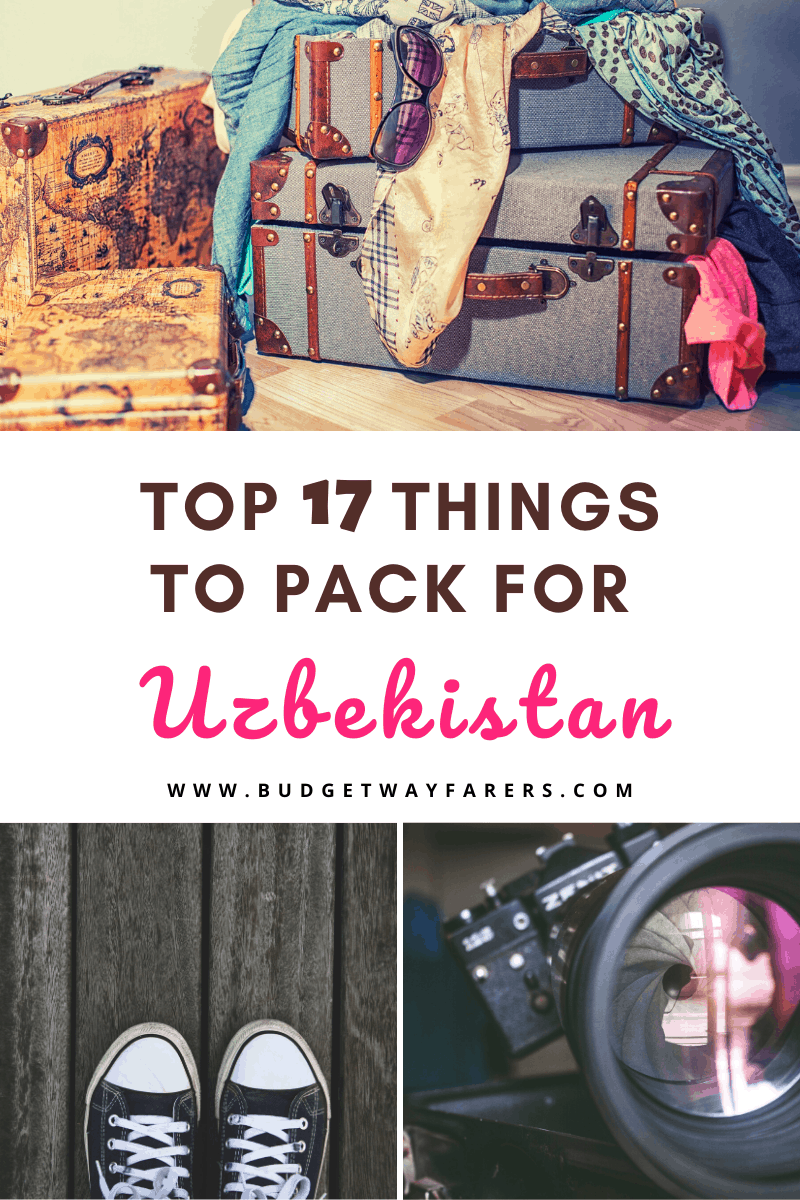 packing list for uzbekistan
