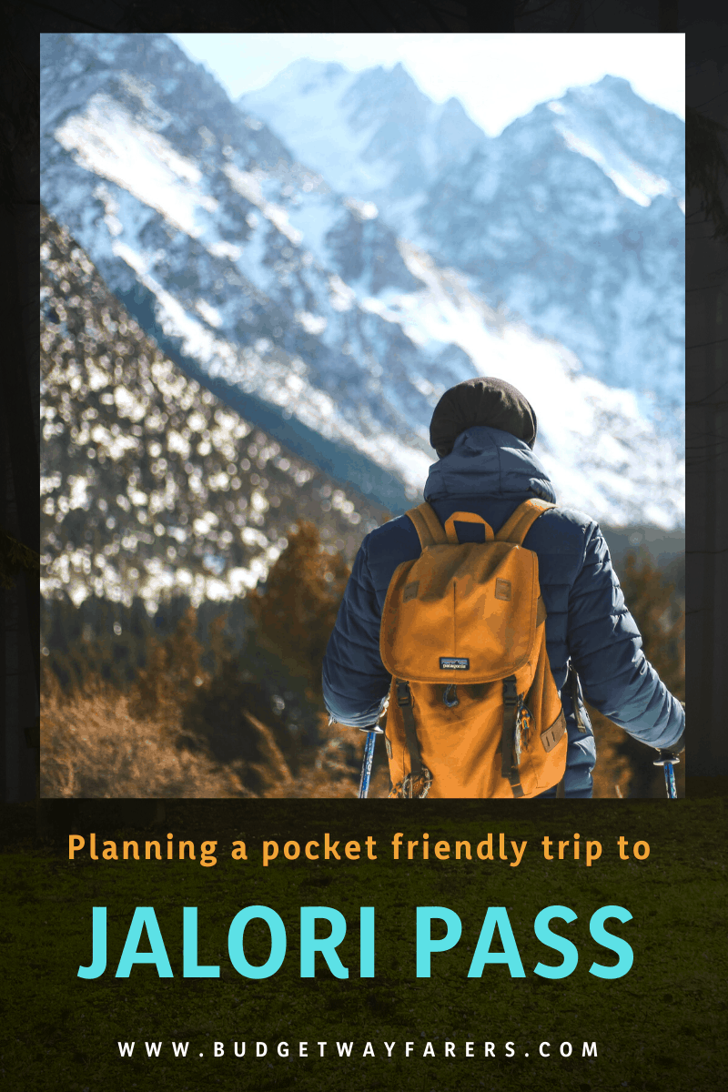 Travelling to Jalori Pass