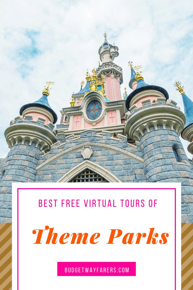 best free virtual tours theme parks
