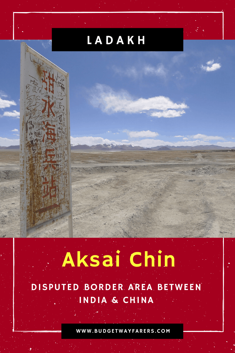 forbidden places in India aksai chin
