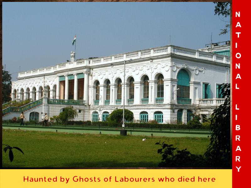 national library kolkata haunted