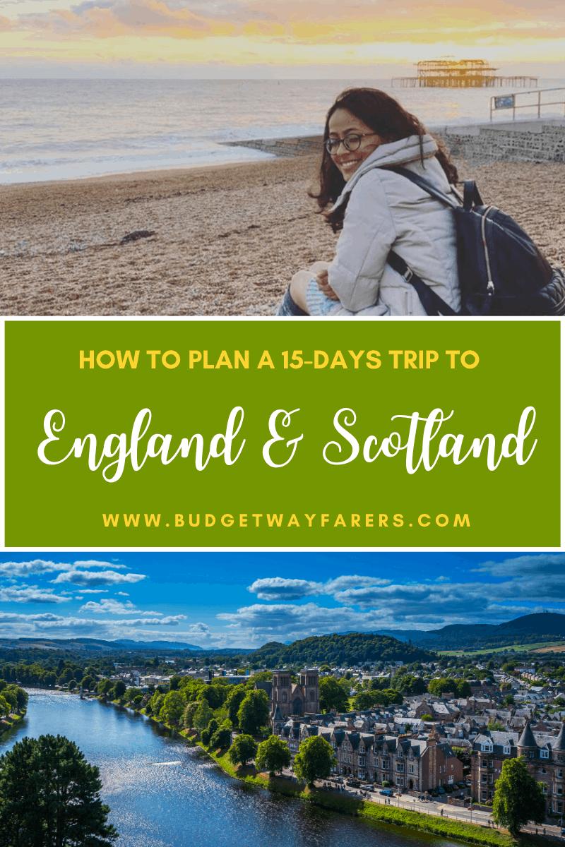 England & Scotland Itinerary for 15 Days