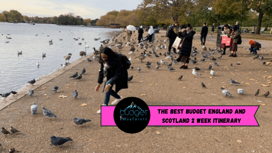 The Best Budget England and Scotland 2 Week Itinerary