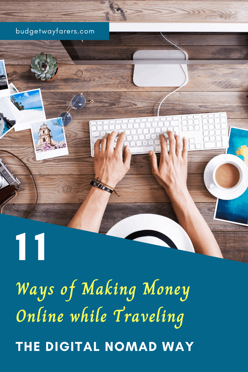 how to make money online while traveling