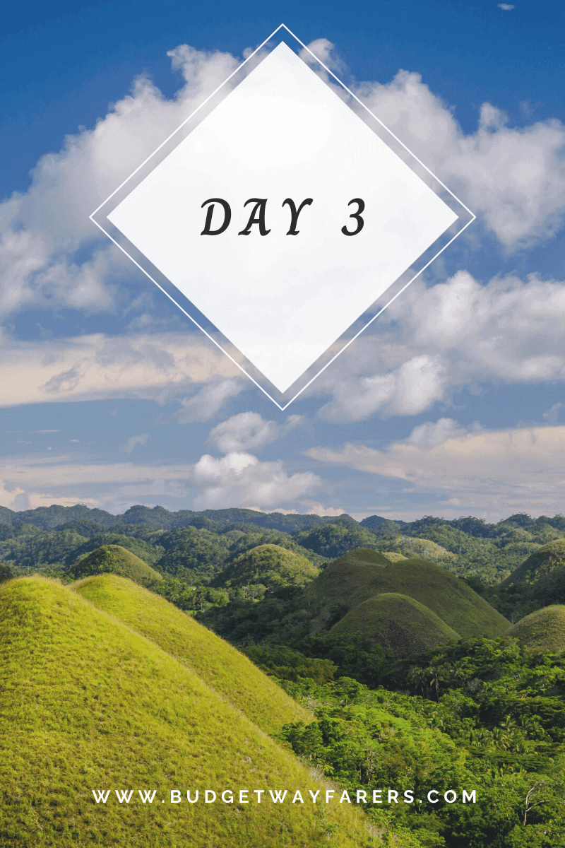 Day 3 of Philippines itinerary