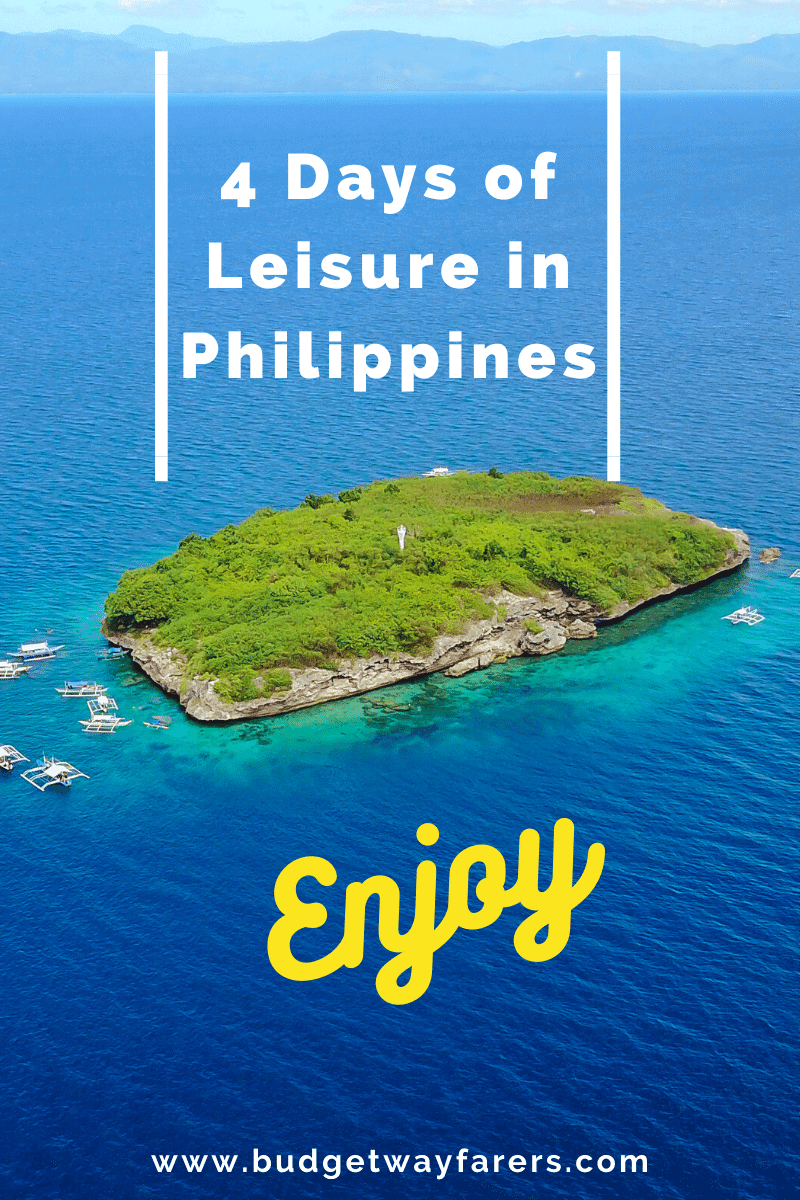 4 day itinerary for Philippines