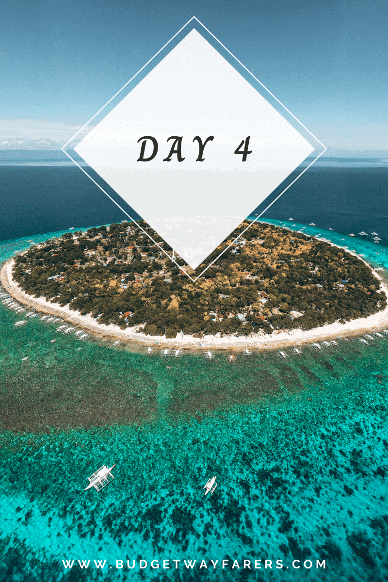 Day 4 of Philippines itinerary