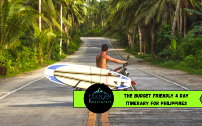 The Budget Friendly 4 Day Itinerary for Philippines