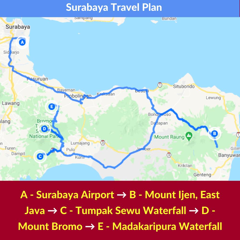 Surabaya Travel Plan